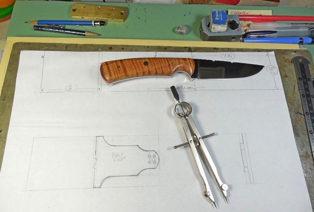 Drawing plans for custom sheath