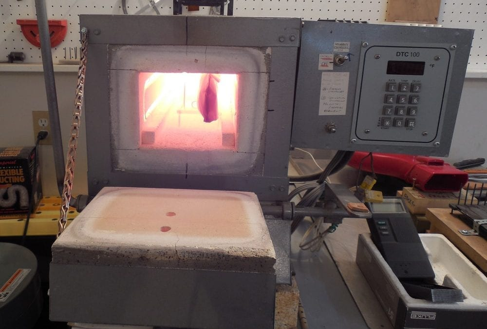 Heat Treating the Hunting Knives