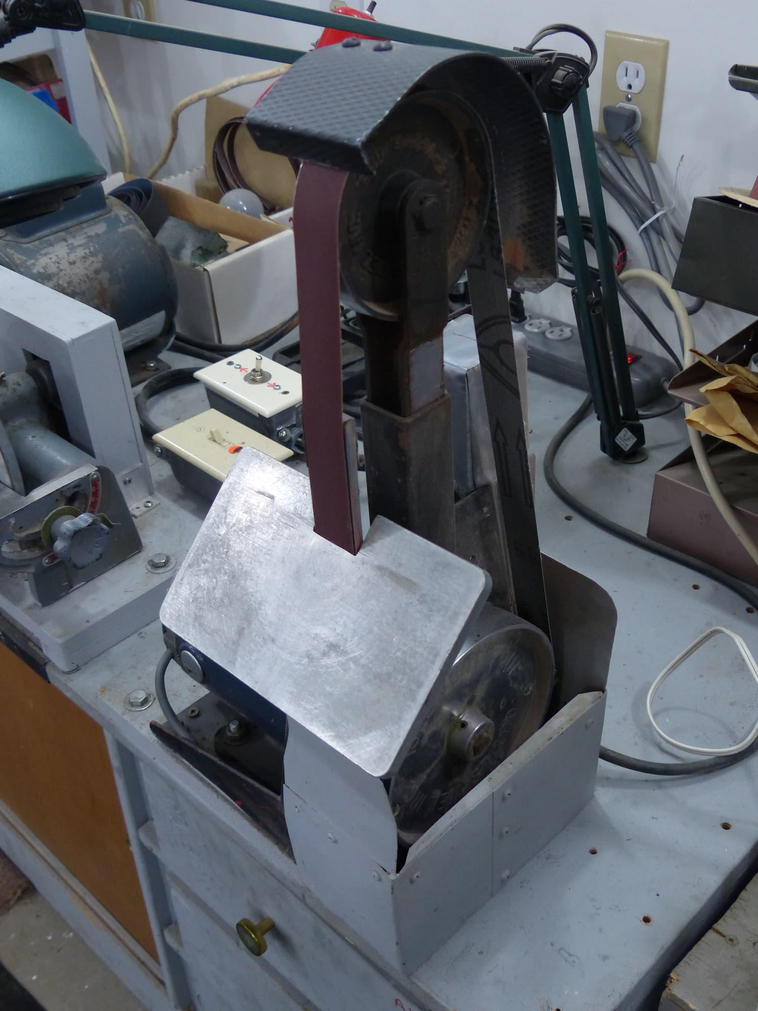 13 1 x 42 belt grinder