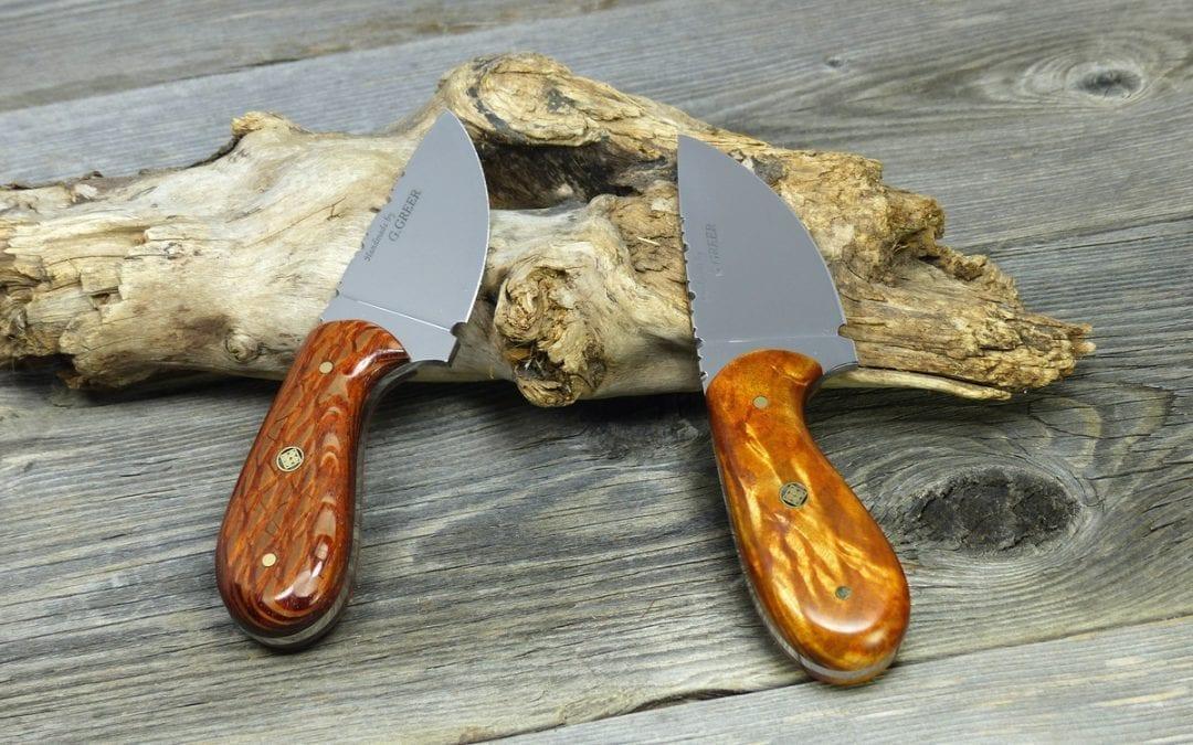 Palm Skinning Knives – Compact Hunting Knives