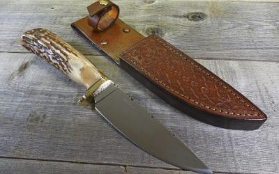 Elk Horn Hunting Knife